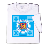 24 Game 30th Anniversary T-shirt, featuring 24 game logo