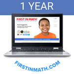 First In Math INDIVIDUAL Subscription (12mo)