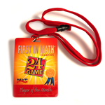FIM Player of the Month Badge & Lanyard