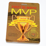 24® Game/First In Math® MVP Badge with Lanyard