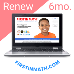 RENEW First In Math Individual Subscription (6mo)