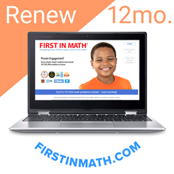 RENEW First In Math Individual Subscription (12mo)