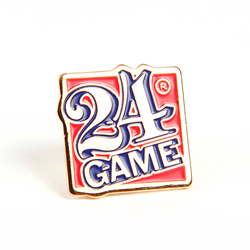 24® Game Cloisonne Pins-Set of 5