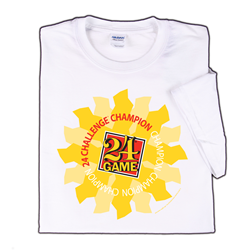 24® Game/24 Challenge® Champion Shirts