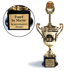 First In Math® Trophy