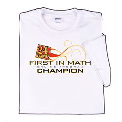 First In Math Champion T-shirt