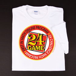 First In Math Online Program / 24 Challenge T-shirt