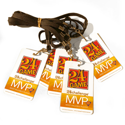 24 Challenge® MVP Badge (Set of 5)
